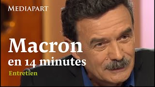 Macron : 2h38 d'entretien résumées en 14 minutes