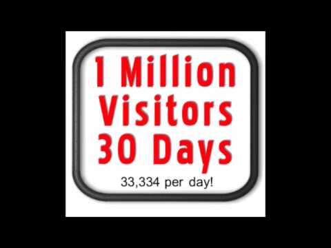 Learn How To Get 1 Million Website Visitors traffic with a Few Clicks