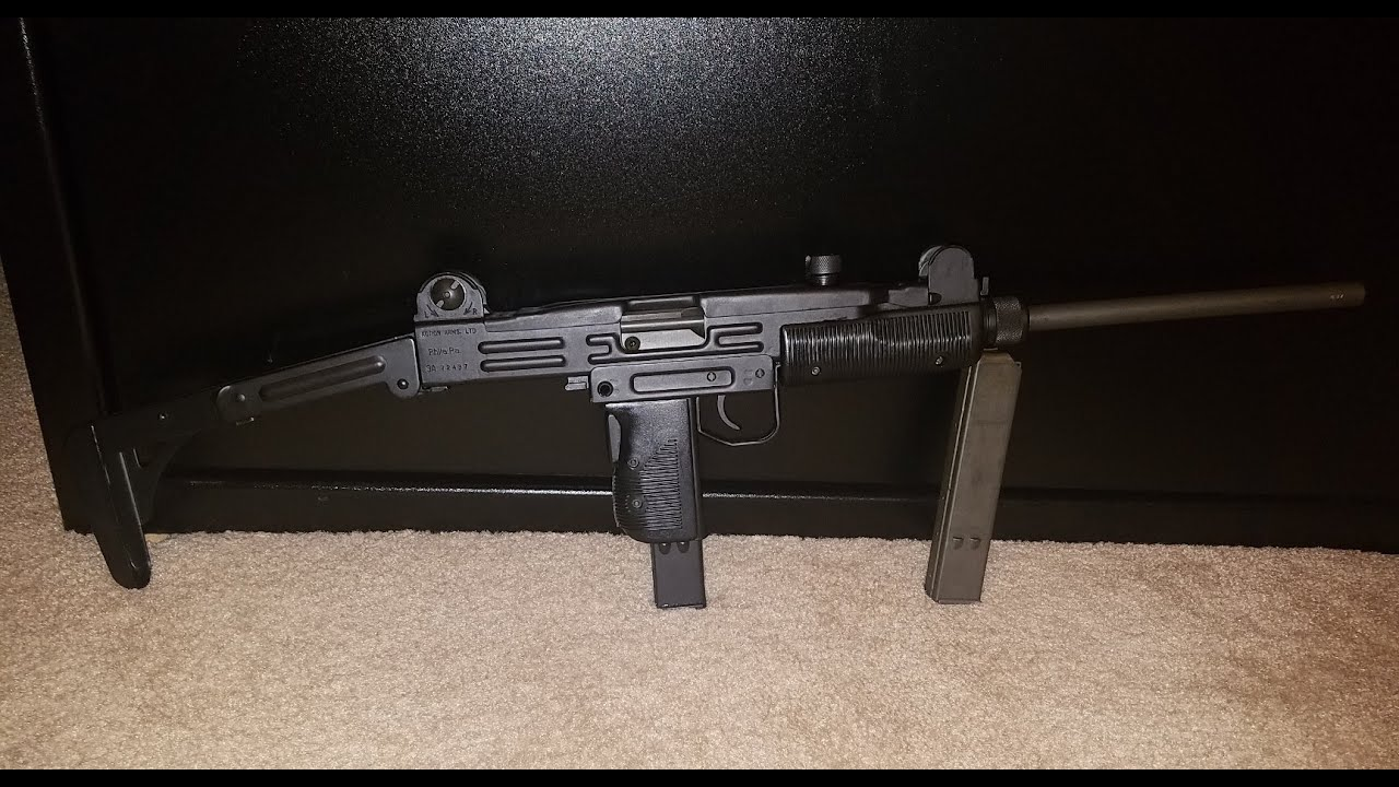 Uzi does it!!! My new (to me) Pre-Ban IMI Uzi Model B 9mm Carbine