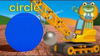 Learn Shapes at Gecko's Garage | Educational Videos For Children