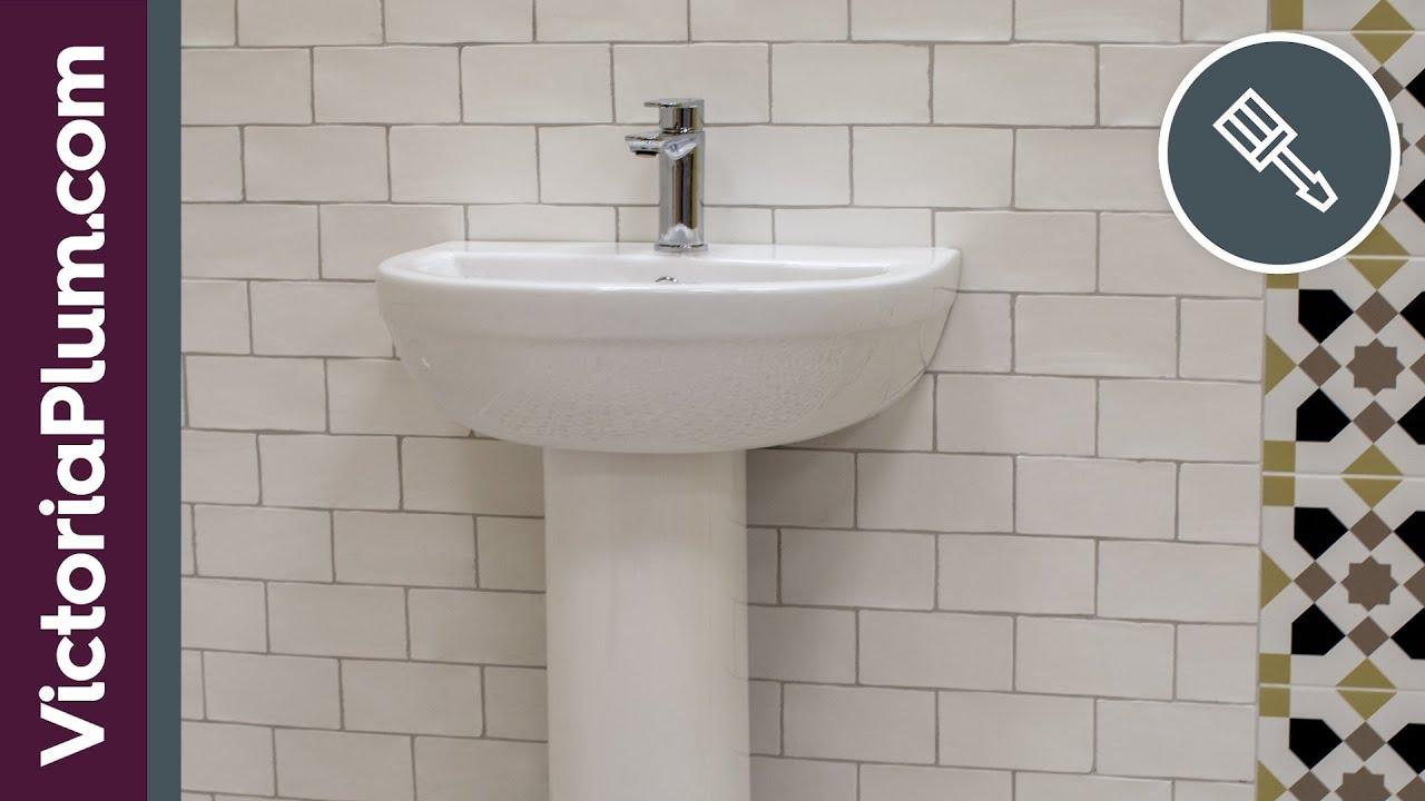 How To Install A Bathroom Sink Or Basin Victoriaplum Com