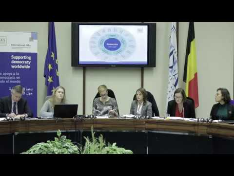 The Global State of Democracy Launch: Brussels (Opening Session)