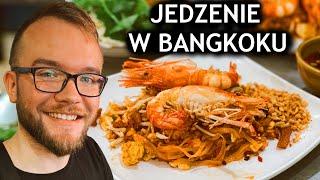 TAJLANDIA, BANGKOK: JEDZENIE w BANGKOKU - jedzenie uliczne i ceny jedzenia   GASTRO VLOG #282