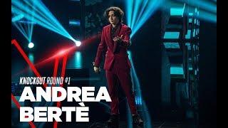 """Andrea Bertè  """"Ferma questo istante"""" - Knockout - Round 1 - TVOI 2019"""