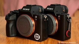 sony a7r ii vs a7s ii comparison for video