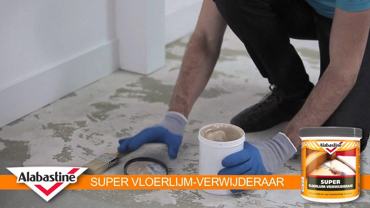Genoeg How to - Super Vloerlijm-Verwijderaar - Alabastine - YouTube ET83