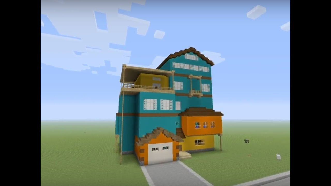 How To Build Hello Neighbor In Minecraft Ep 2 Alpha 1 Youtube