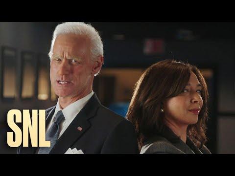 Jim Carrey and Maya Rudolph Transform into Joe Biden and Kamala Harris - SNL