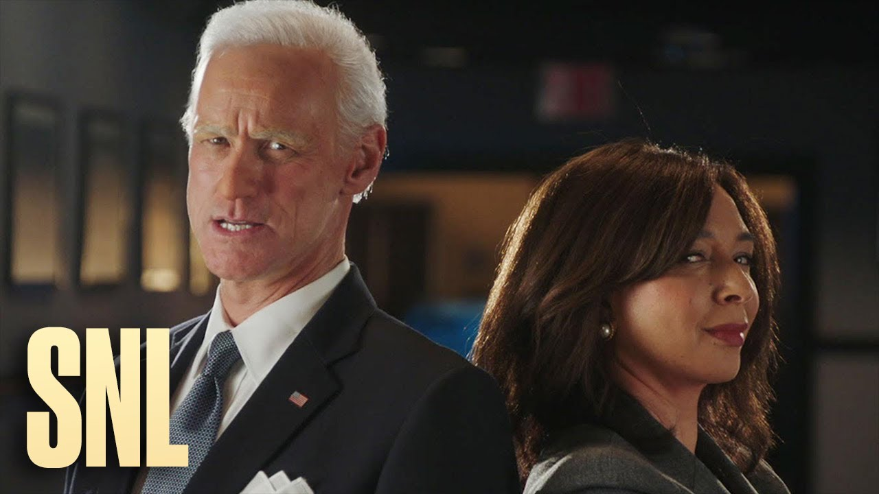 #TMPCHECKOUT: Jim Carrey and Maya Rudolph Transform into Joe Biden and Kamala Harris - SNL