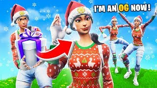 GIFTING My Fortnite Team The NOG OPS SKIN for Christmas...