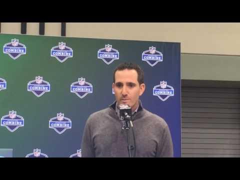 NFL Combine 2017: Philadelphia Eagles GM Howie Roseman talks NFL Draft