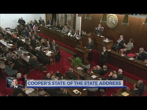 Gov. Cooper delivers his first 'State of the State' address, calls for compromise