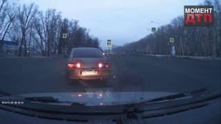 Момент ДТП возле Альгешево, опасный поворот Чебоксары