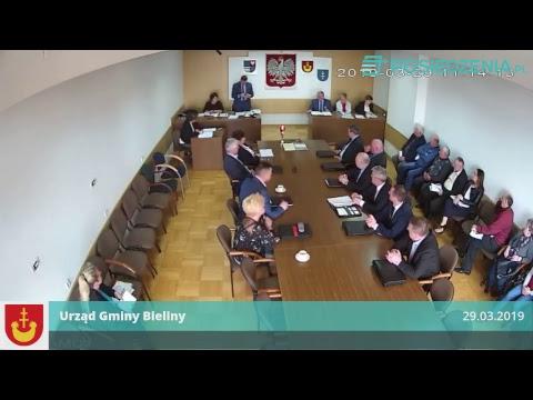 Rada Gminy Bieliny– 6 Sesja 8 Kadencji