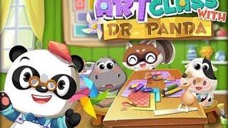 Dr. Panda's Art Class - top app demos for kids - Ellie