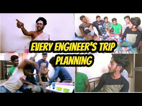 EVERY ENGINEER'S TRIP PLANNING | the sam khan show