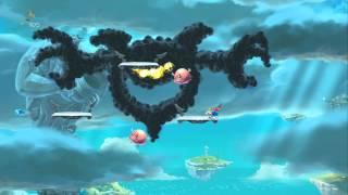 Rayman Legends 100% Walkthrough Part 29 - World 5 Boss - A Cloud of Darkness