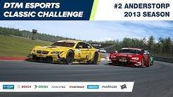 #DTMEsports Classic Challenge – Anderstorp 2013 (Round 2)