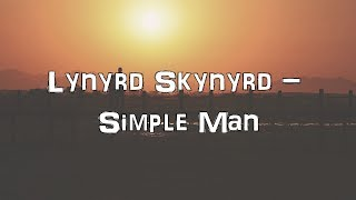 Lynyrd Skynyrd - Simple Man [Acoustic Cover.Lyrics.Karaoke]