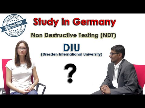Masters in Non-Destructive Testing | Study In Germany | DIU | Dresden