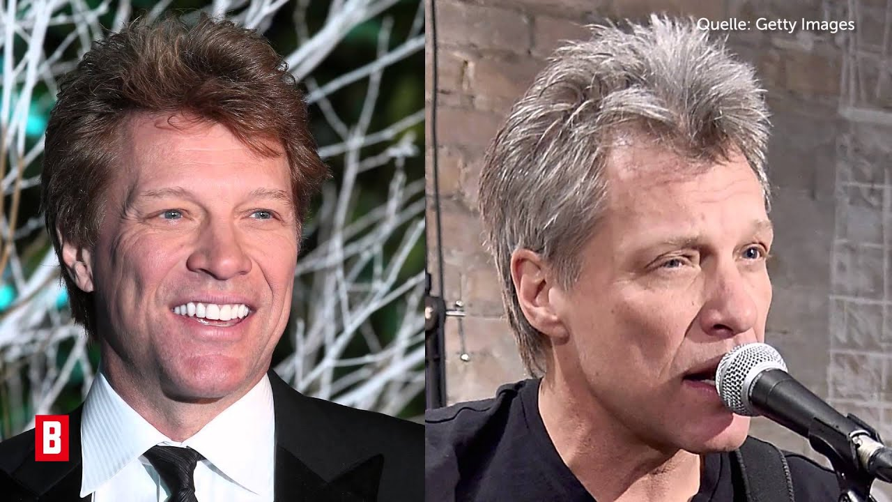 BUNTE TV - Jon Bon Jovi: Total verändert!