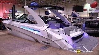 2015 Cruisers 328 CX Motor Yacht - Deck and Interior Walkaround - 2015 Toronto Boat Show
