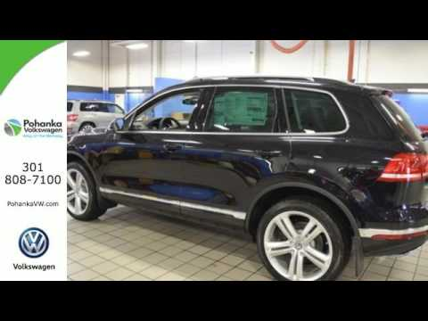 New 2017 Volkswagen Touareg Capitol Heights, MD #VHD004693