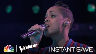 "Payge Tuner's Wildcard Instant Save Performance of Rihanna's ""Diamonds"" - Voice Results 2020"