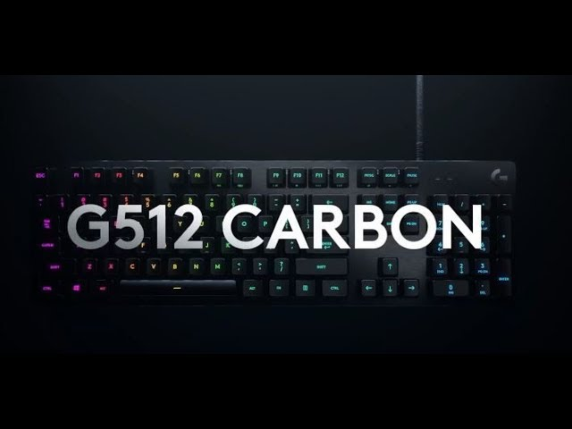 Logitech G512 Carbon keyboard review
