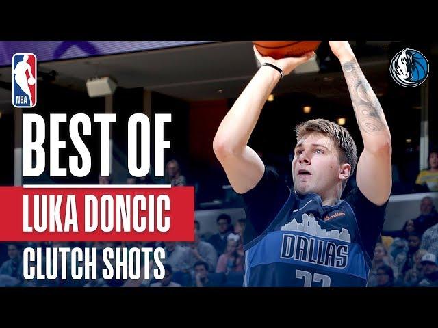 Best of Luka Doncic's Clutch Shots | 2018-2019 NBA Season
