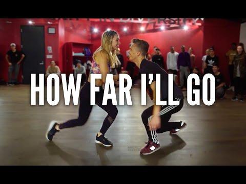 MOANA - How Far I'll Go | Kyle Hanagami Choreography