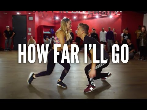 MOANA - How Far I&39;ll Go  Kyle Hanagami Choreography