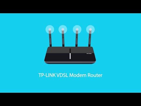 TP-Link VDSL Modem Routers Introduction