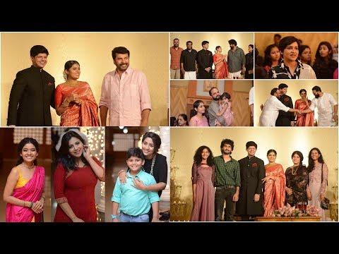 താര സമ്പന്നമായി Lal Jose Daughter Wedding Engagement Reception - Indian Cinema Gallery