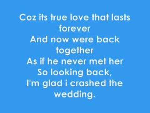 Crashed The Wedding Busted Lyric Video