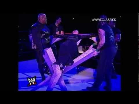 Undertaker and Stephanie Dark Wedding