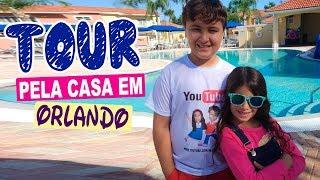 TOUR PELA NOSSA CASA EM ORLANDO