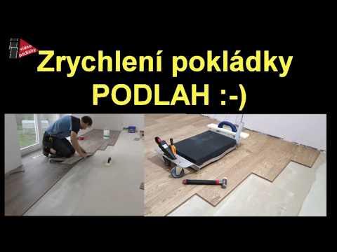 Janser Janboard pokládka podlah
