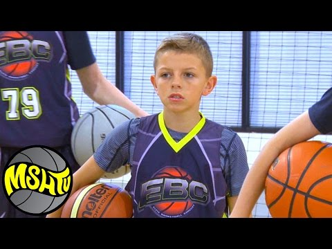 6th Grader Ozzie Smith SHOWS OUT at EBC Utah Camp - Class of 2022 Basketball - MSHTV West