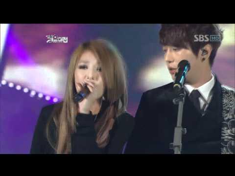 CNblue&Wondergirls - Tainted Love SBS  FESTIVAL 가요대전 1229