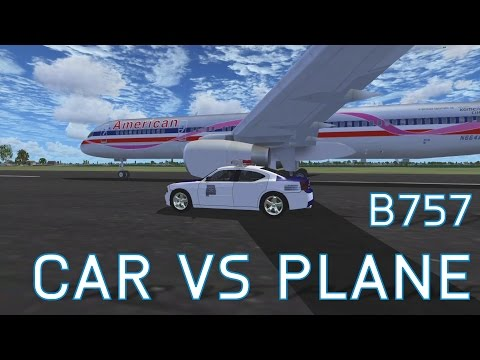 FSX Car VS Plane | Who Will Win? | +Channel Update