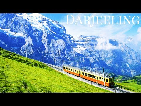 Darjeeling, Himalayas,India: Himalayan Railway, Zoological Park,Tea Garden,Hill Track,Mall Area*HD*