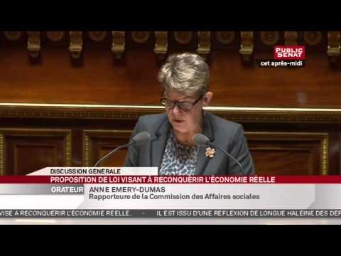 24h Sénat - La séance : Proposition de loi visant à reconquérir l'économie réelle