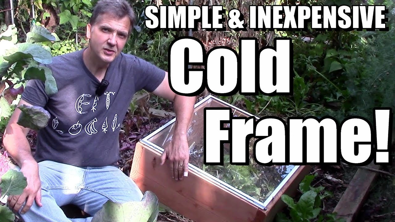 How to Build a Simple & Inexpensive Cold Frame to Extend the Growing Season