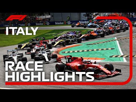 2019 Italian Grand Prix: Race Highlights