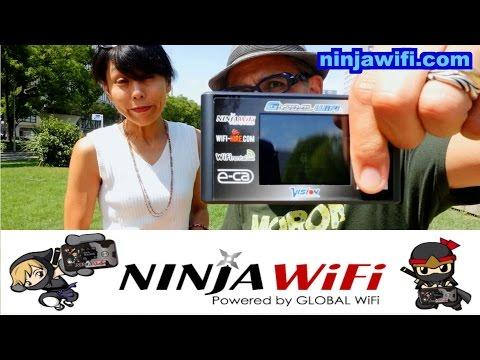 Going to Japan? Get Ninja Wifi