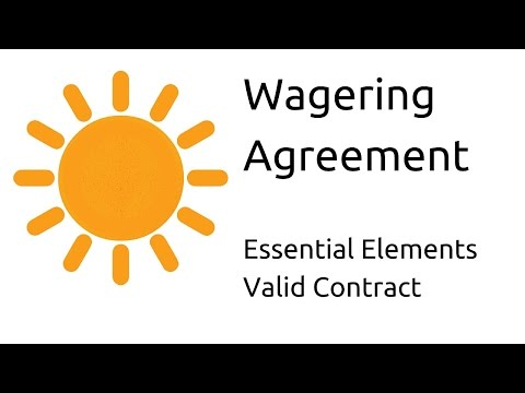 What is Wagering agreement | Other Essential Elements of a Valid Contract | CA CPT | CS & CMA