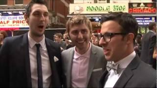 Inbetweeners talk clunge at premiere