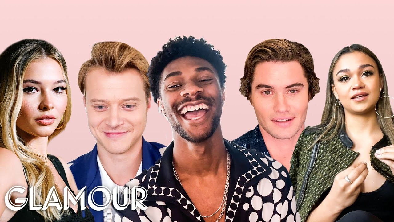 Download The Cast of Outer Banks Take a Friendship Test | Glamour