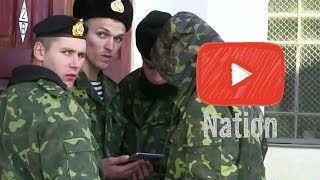 Repeat youtube video Ukrainian Soldiers Refuse to Stand Down! | YouTube Nation | Wednesday